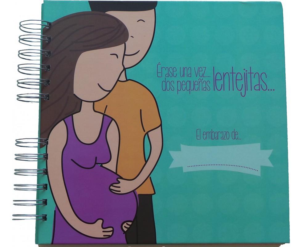 Libro / diario del embarazo de gemelos y mellizos