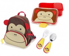 Pack 2 Mochila + lunchbox + Cubiertos