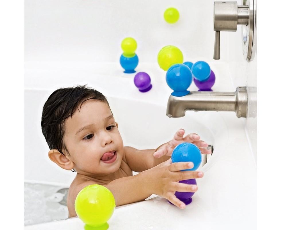 Juguetes para ba o con ventosas bubbles tot a lot for Ventosas para bano