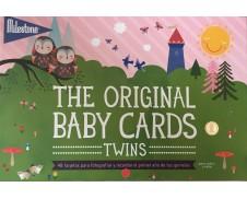 Tarjetas de fotografía Milestone para gemelos o mellizos
