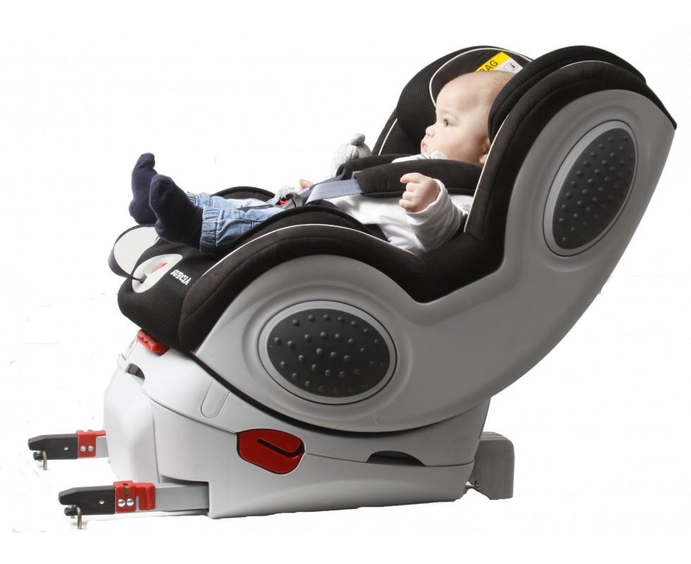 Silla de coche mondial safe suecia grupo 0 1 isofix for Coches con silla para bebe