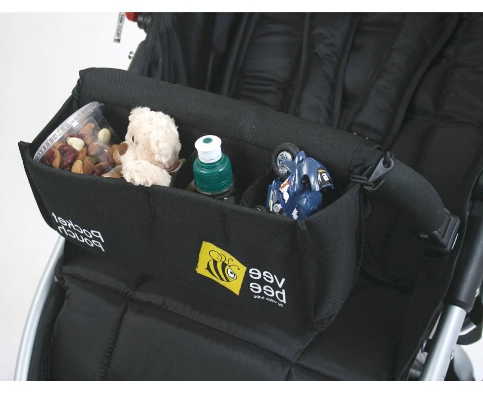 Valco Baby Pocket Pouch: Bolsa portaobjetos para barra delantera