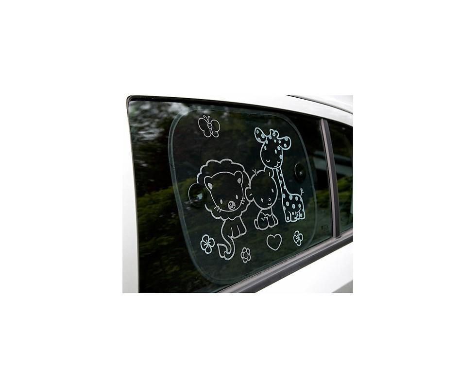 Protector de sol para el coche animalitos Clippasafe