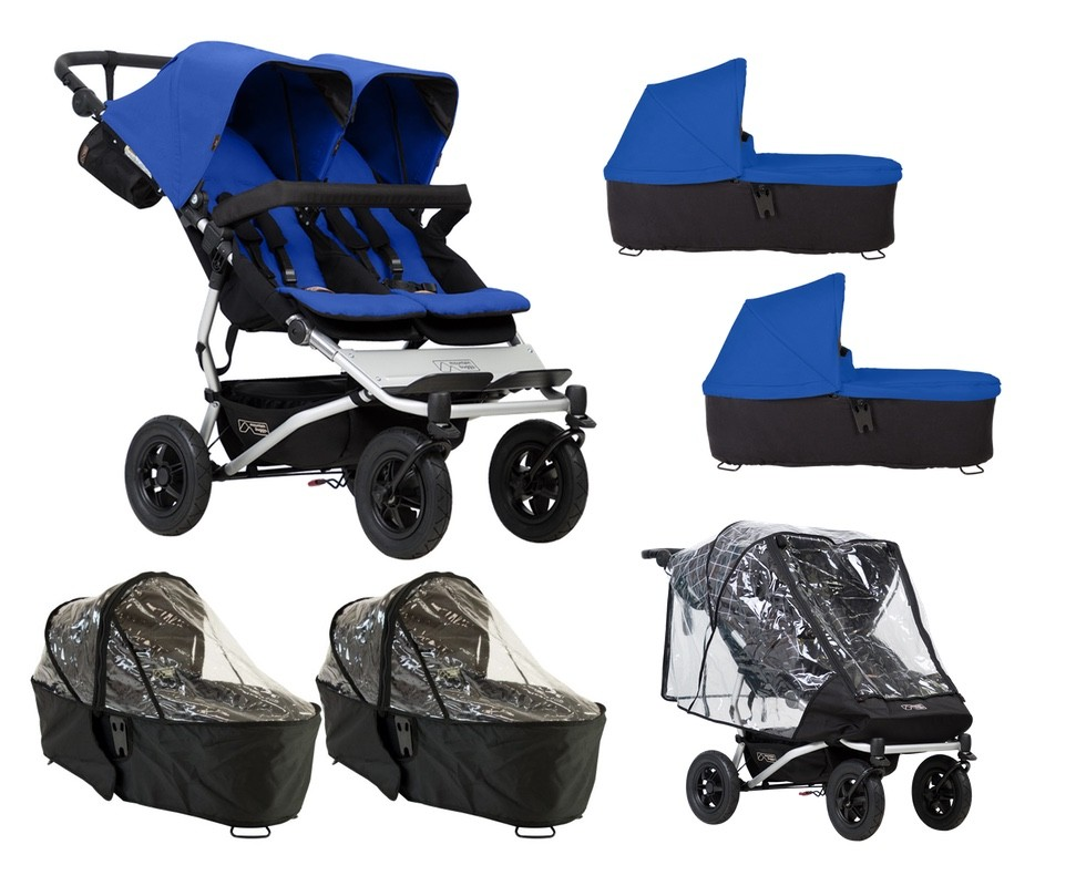Pack lluvia plus Mountain Buggy Duet 3.0