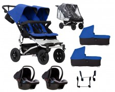 Pack Auto Capazo lluvia Mountain Buggy Duet 3.0