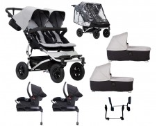 Pack Auto isofix con capazos Mountain Buggy Duet 3.0