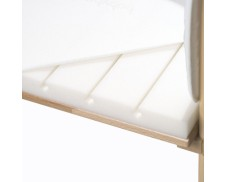 Colchón extra ventilado para cuna de colecho gemelar Babybay Maxi