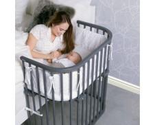 Protector de barrotes con estampados para Cuna Babybay Maxi