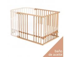 Extensión para cuna colecho gemelar Babybay Maxi (madera aceitada)