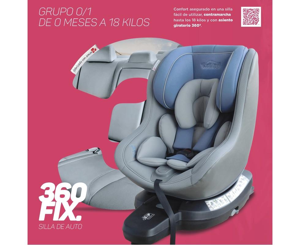 silla auto 360 fix asalvo grupo 0 1
