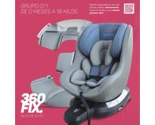 Asalvo 360 Fix (Silla de coche giratoria 0+1 isofix)