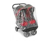 Burbuja de lluvia doble para silla gemelar Baby Jogger City Mini