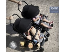 Silla convertible en gemelar Bumprider Connect