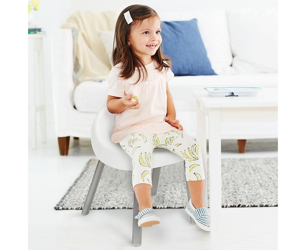 Pack 2 sillas niño 1-5 años blancas Skip Hop