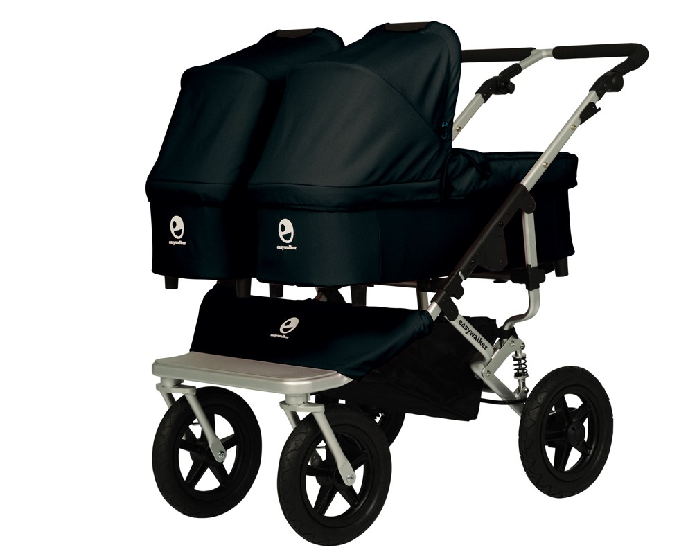 Carrito gemelar easywalker duo plus negro tot a lot for Sillas para automoviles