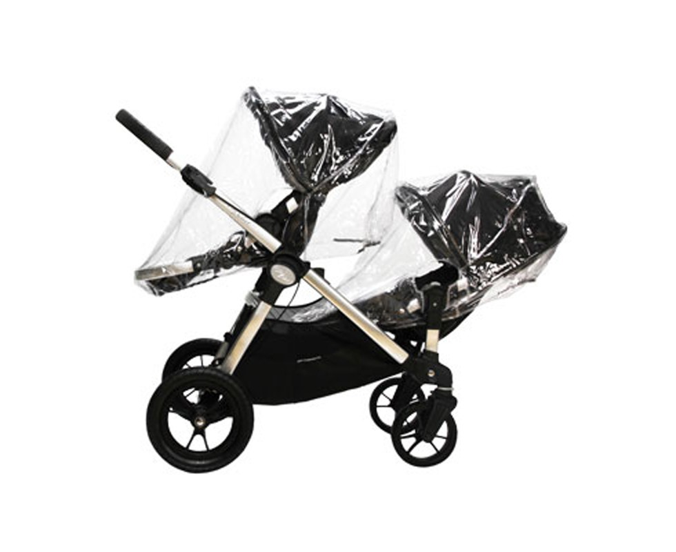 Burbuja de lluvia individual para asiento de carrito gemelar Baby Jogger City Select