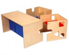 Set juego cúbico y mesa Babycube