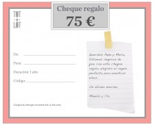 Cheque regalo 75 €