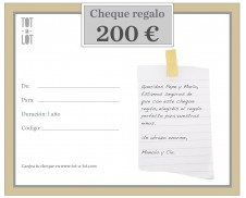 Cheque regalo 200 €