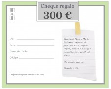 Cheque regalo 300 €