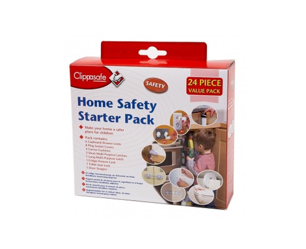 Set de seguridad para hogar Clippasafe