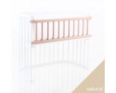 Barrera colecho para cuna gemelar madera natural sin tratar Babybay Maxi
