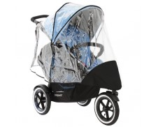 Burbuja de lluvia doble para carrito navigator