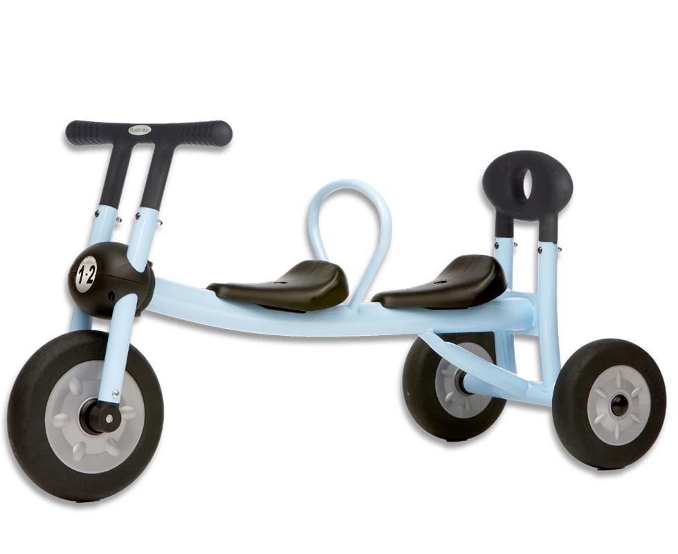 Triciclo gemelar Pilot sin pedales