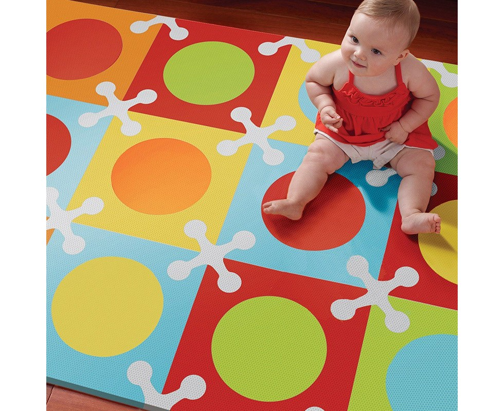 SKIPHOP Alfombra Playspot Decorativa Bold