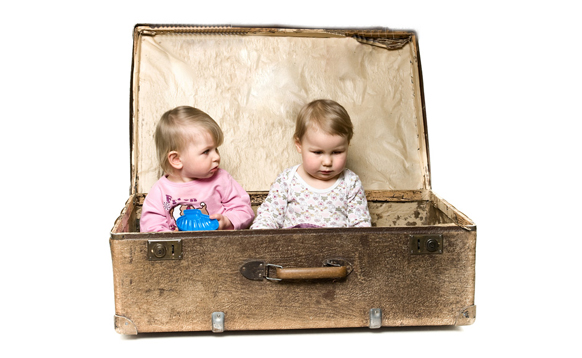 Consejos para viajar con gemelos | El blog de los gemelos y