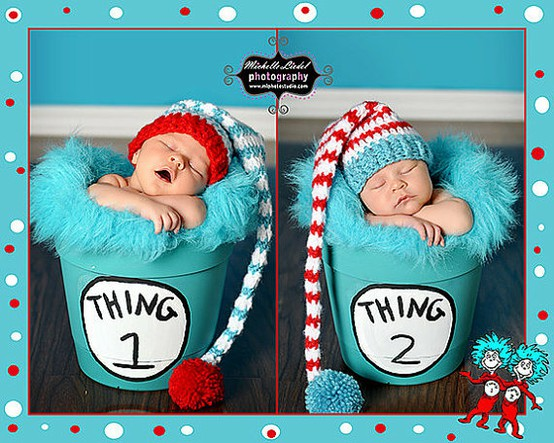 Dr Seuss Baby Clothes Twins