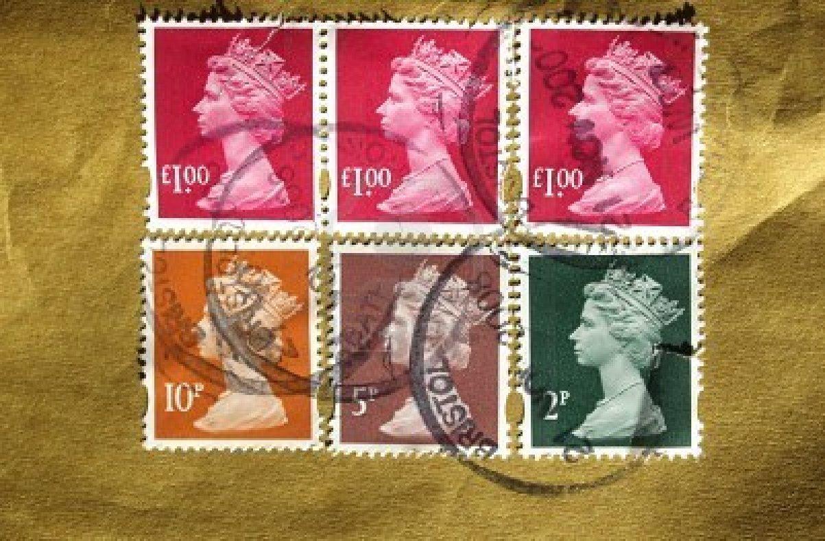 sellos Inglaterra