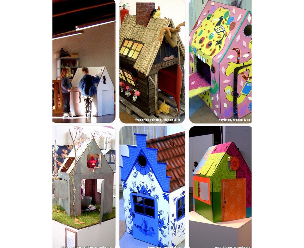 Los juguetes de nuestros gemelos o mellizos pueden ser - Casas para ninos de carton ...