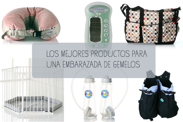 Productos imprescindibles para embarazadas de gemelos o mellizos