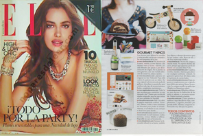 TOT-a-LOT en la revista ELLE